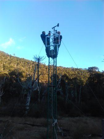 Monitoreo hidrológico Nasampulli
