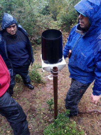 Monitoreo participativo de agua CAPR